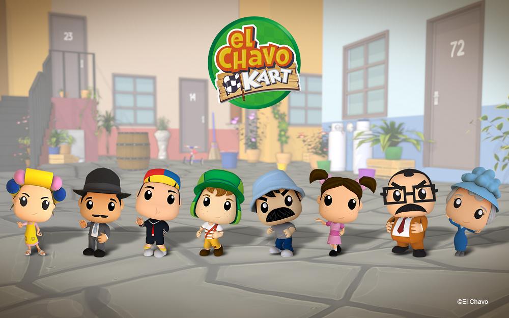 El Chavo del 8 estrena videojuego – El Chavo Kart