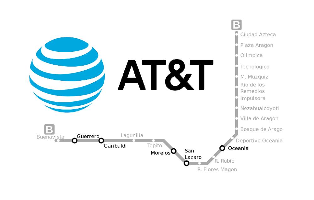 AT&T en México conecta la Línea B del Metro de la CDMX con la red más confiable