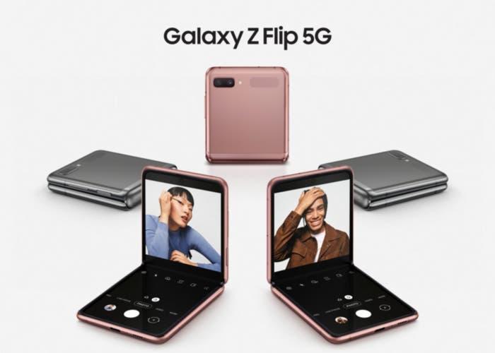 Samsung actualiza el Galaxy Z Flip con Snapdragon 865+ y 5G