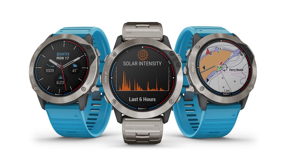 Garmin apuesta por la energía solar y presenta nueva línea de relojes inteligentes