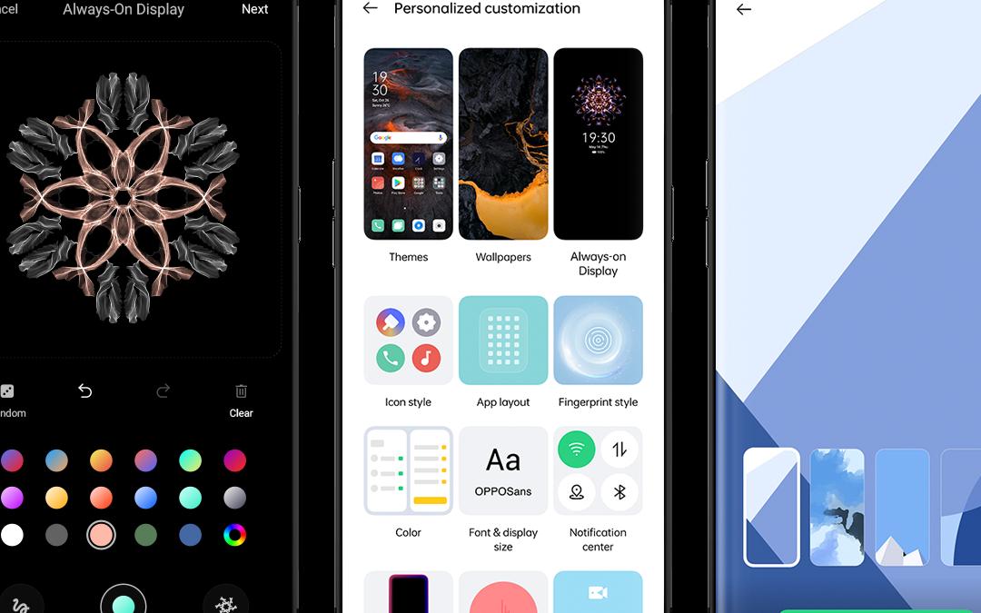 OPPO presenta mundialmente ColorOS11: el nuevo sistema operativo que ofrece una gran posibilidad de personalización y múltiple funcionalidad