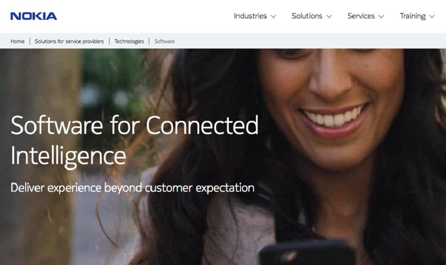 Nokia se posiciona nuevamente en primer lugar en software y servicios de telecomunicaciones