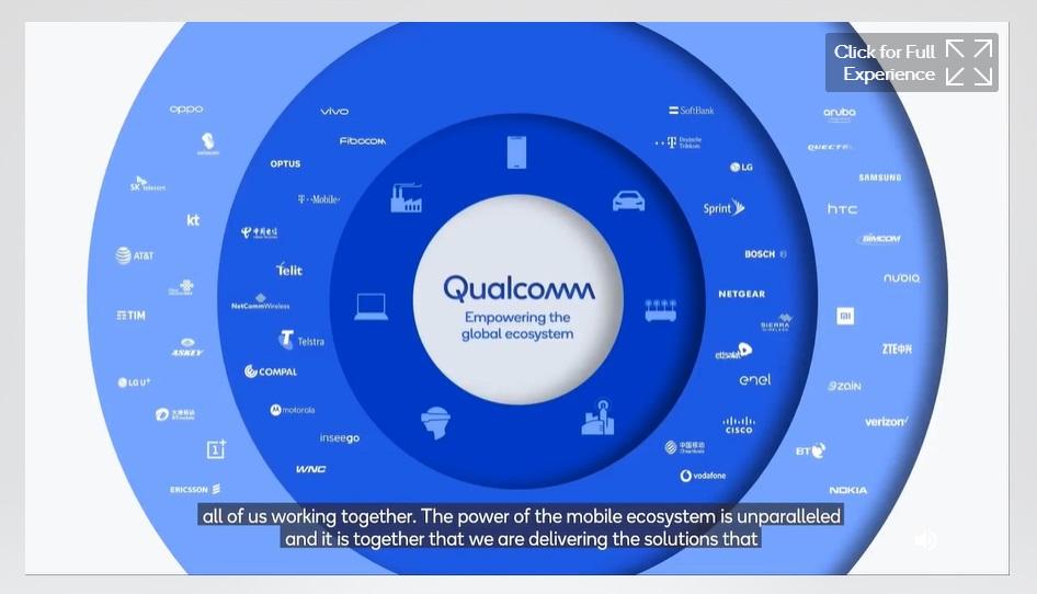 """El 5G es esencial para el futuro del trabajo y las empresas conectadas"""",afirmael presidente de Qualcomm durante el Qualcomm LatamSummit 2020"""