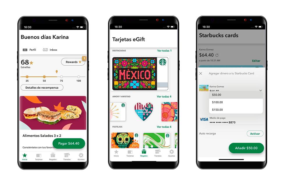 El nuevo look de Starbucks Rewards que debes conocer