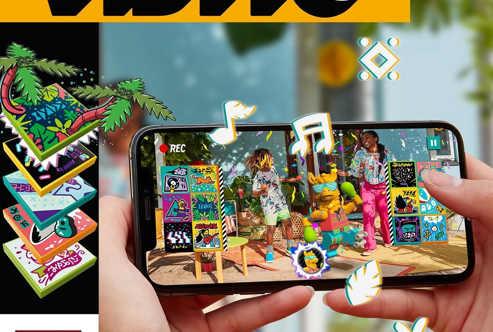 Grupo Lego y Universal Music Group anuncian LEGO VIDIYO
