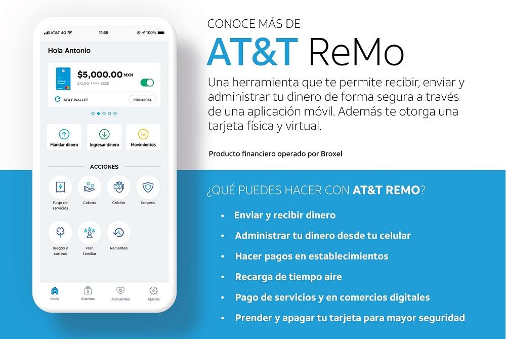 AT&T ReMo, una nueva herramienta financiera que permite a los usuarios digitalizar su dinero