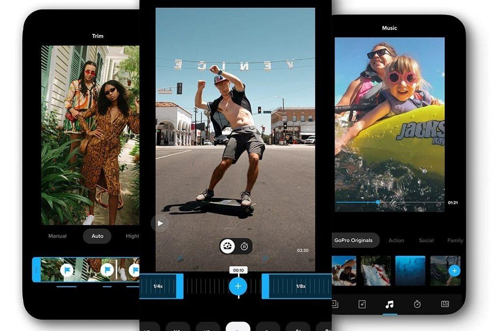 Con la nueva aplicación de GoPro 'Quik' edita tus fotos y vídeos capturadas desde cualquier teléfono o cámara que utilices