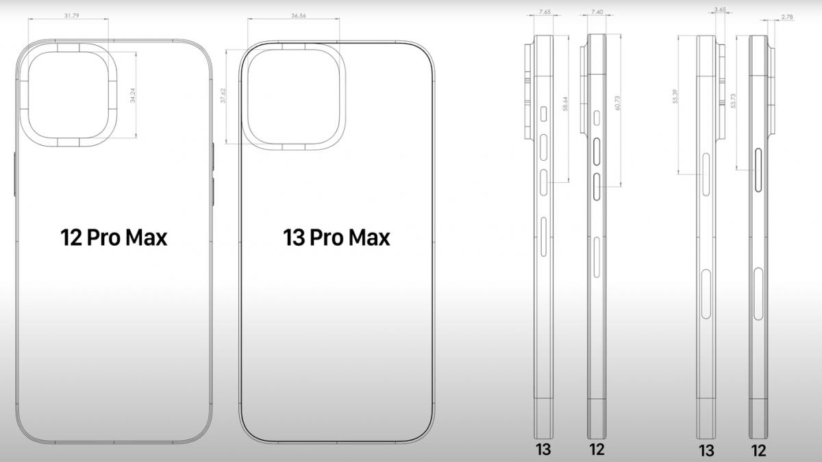 Se revela nueva información sobre el iPhone 13