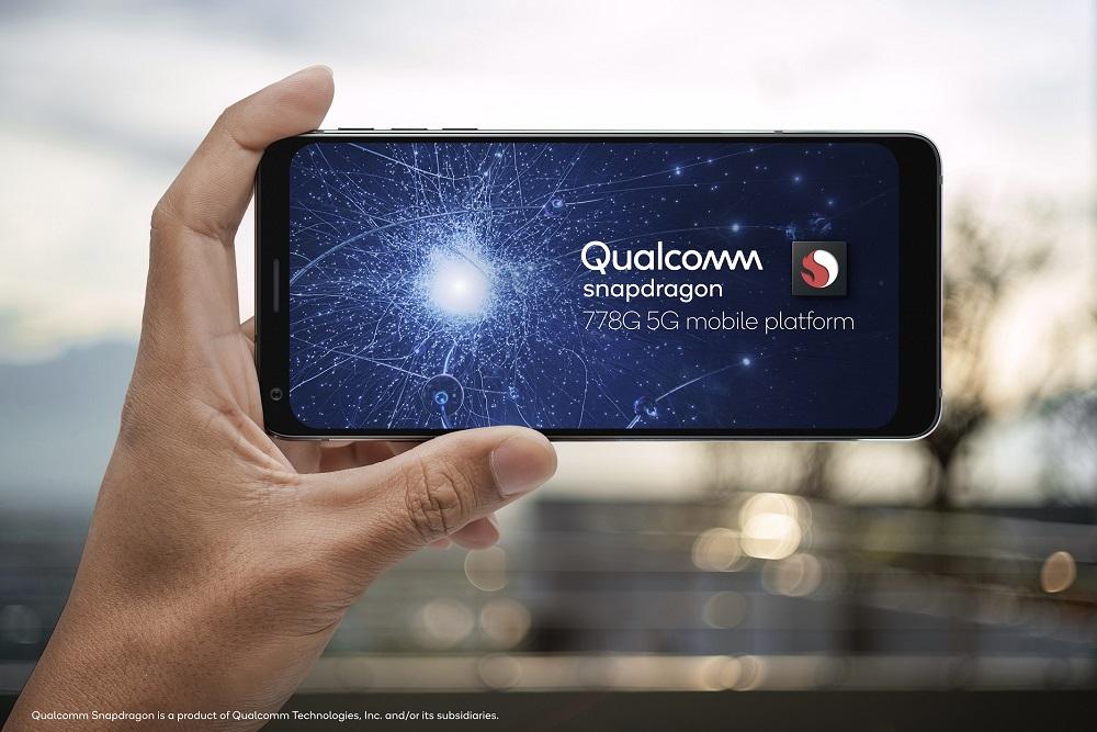 Qualcomm presenta la nueva plataforma móvil Snapdragon 778G 5G; adopción masiva de ecosistemas