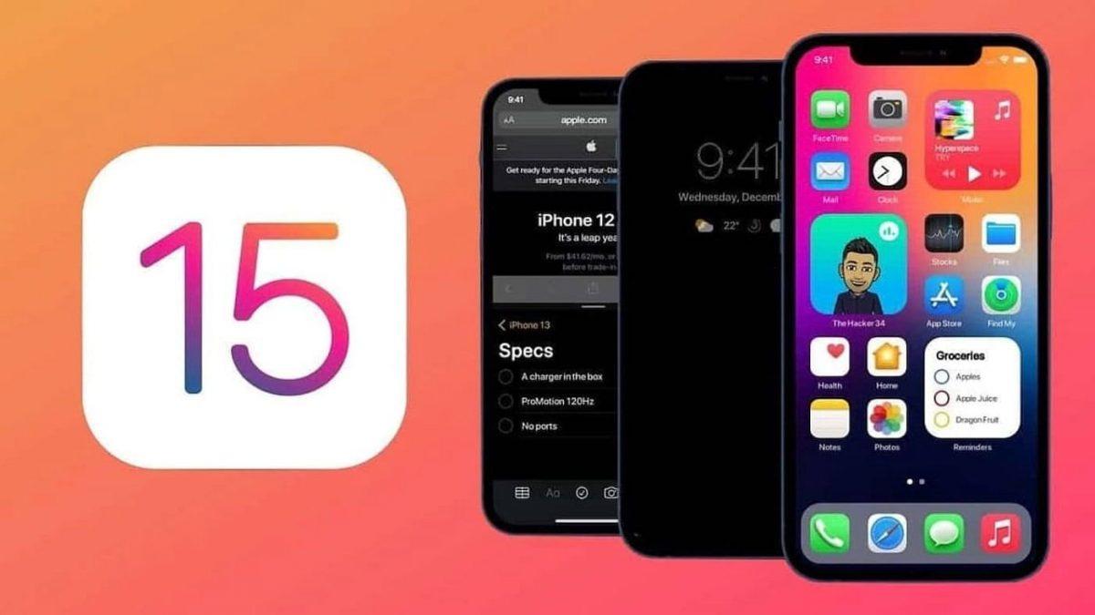 iOS 15 y iPadOS 15 llegarán el 20 de septiembre